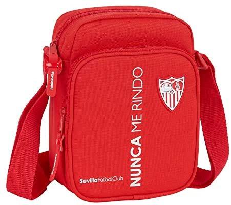 Bandolera con Bolsillo Exterior de Sevilla FC Corporativa, 160x60x220mm