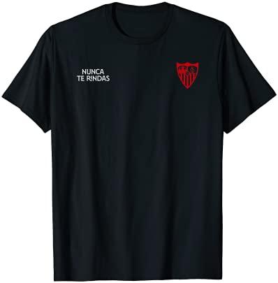 Sevilla FC - Nunca te rindas escudo Mod10 Camiseta